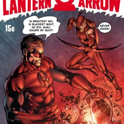 Wondering about the Red Lantern/Red Arrow image?
