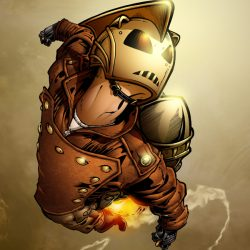 IDW Releases Rocketeer Mini with Multiple Talents