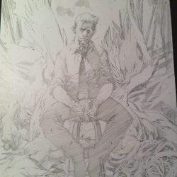 Countdown to Halloween: Jim Lee's Constantine via Twitter