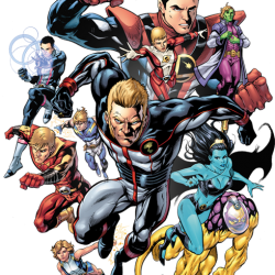 DC Opens Legion of Super-Heroes Election