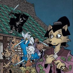 Usagi Yojimbo Is Returning In May