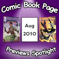 Comic Book Page Previews Spotlight #034: 2010-08