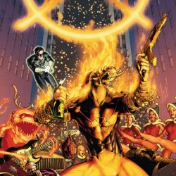 Larfleeze in his own Christmas Special
