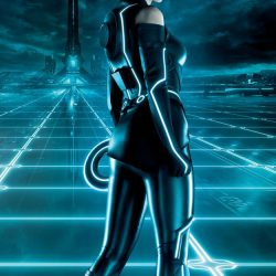 New Tron Legacy Footage And Quorra Banner