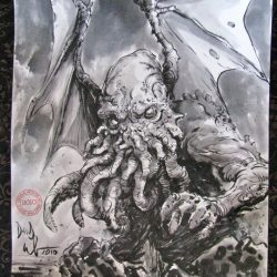 Countdown to Halloween: Dave Wachter Cthulhu