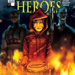 Fallen Heroes Comic Adaption Launches this Month