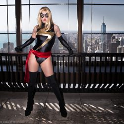 Ms. Marvel's Day Off staring @MiracoleBurns