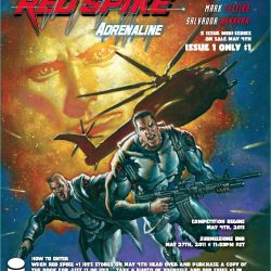 Win The Original Cover of Red Spike #1 by Mark Texeira
