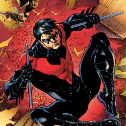 Nightwing Returns Again and in a New Costume