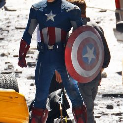 Chris Evans As Modern Captain America