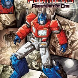 Transformers Regeneration 80.5 on Free Comic Book Day