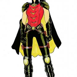 Earth 2 Character Designs – Robin