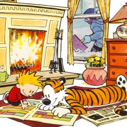 A Calvin and Hobbes Original Sells for Over $200,000