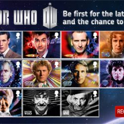 All 11 Doctors get stamps in Royal Mail Doctor Who set