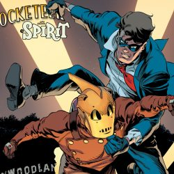 The Rocketeer and The Spirit Join Forces