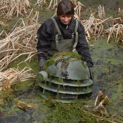The Head of a Dalek is Found in an English Pond
