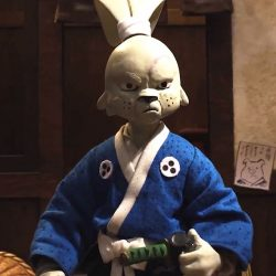 Usagi Yojimbo Stop Motion Short Film And Possibly A Feature